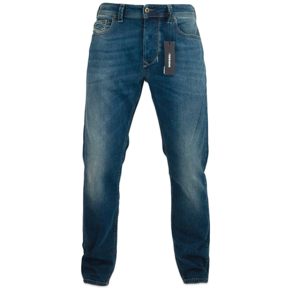 Diesel Larkee-Beex 84BU Tapered Jeans - Dark Blue