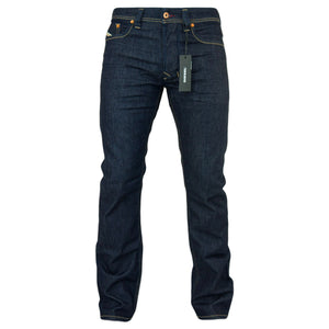 Diesel Larkee 084HN Straight Fit Jeans - Dark Blue - Arena Menswear