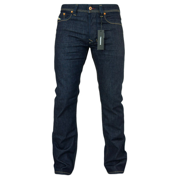 Diesel Larkee 084HN Straight Fit Jeans - Dark Blue
