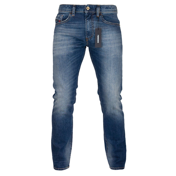 Diesel Thommer 89AR Slim Fit Jeans - Medium Blue - Arena Menswear