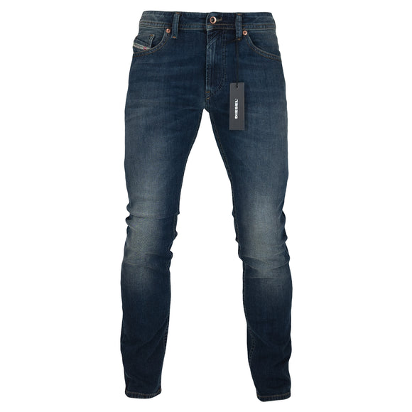Diesel Thommer 84BU Slim Fit Jeans - Dark Blue - Arena Menswear