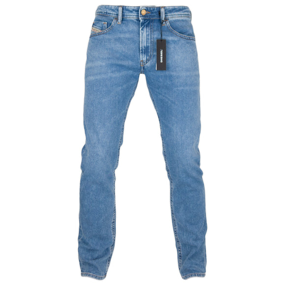 Diesel Thommer 87AR Slim Jeans - Light Blue - Arena Menswear