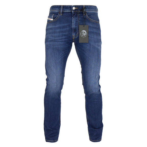 Diesel Thommer 82AZ Slim Fit Jeans - Medium Blue