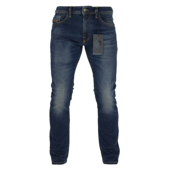 Diesel Thommer 84AU Slim Fit Jeans - Dark Blue