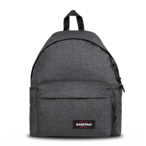EASTPAK Padded Pak'r Backpack in Black Denim - Arena Menswear - 1