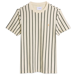 Farah Beatty Stripe T-Shirt - Cream