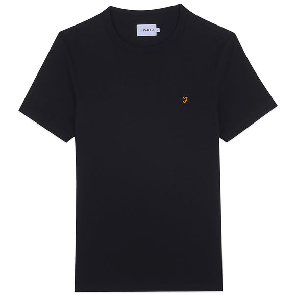Farah Danny T-Shirt - Deep Black