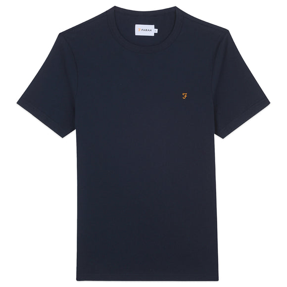 Farah Danny T-Shirt - True Navy