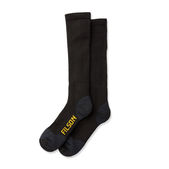Filson Midweight Technical Boot Socks - Black