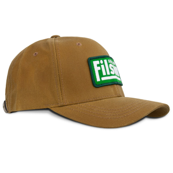 Filson Oil Tin Logger Cap - Tan