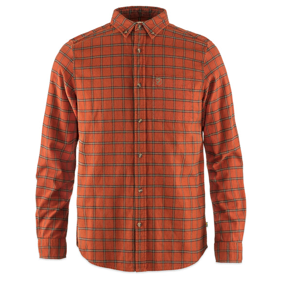 Fjallraven Ovik Flannel Shirt - Autumn Leaf