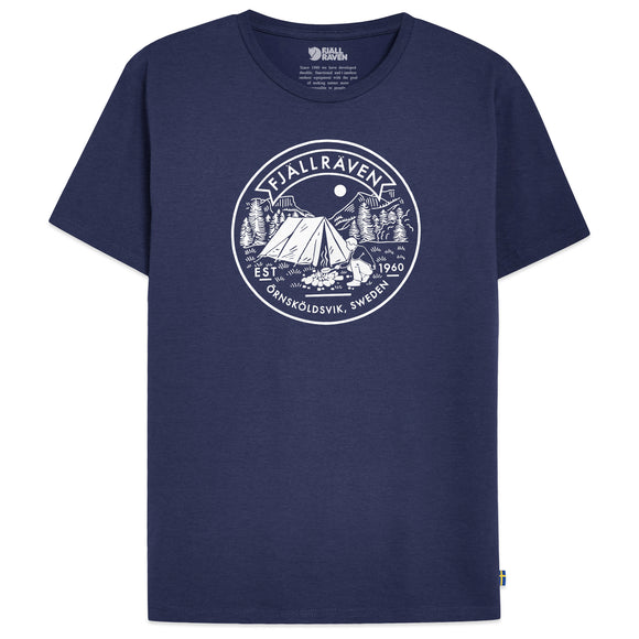 Fjallraven Lagerplats T-Shirt - Navy