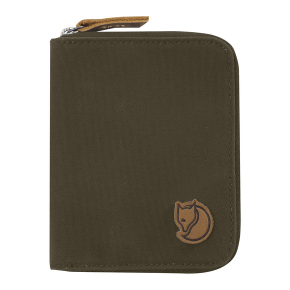 Fjallraven Zip Wallet - Dark Olive