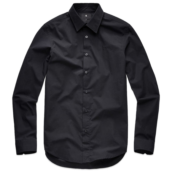 G-Star Core Shirt - Black Stretch Poplin