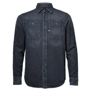 G-Star Kinec Straight Shirt - Worn In Basalt Denim