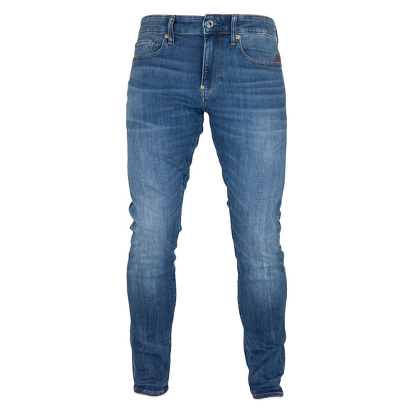 G-Star Revend Skinny Jeans - Elto Medium Indigo Aged Superstretch