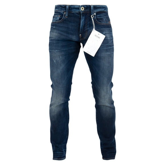G-Star Revend Skinny Jeans - Worn In Wave Destroyed Elto Superstretch