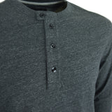 G-Star Riban Grandad LS Tee - Black Heather - Arena Menswear - 2