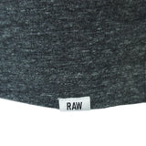G-Star Riban Grandad LS Tee - Black Heather - Arena Menswear