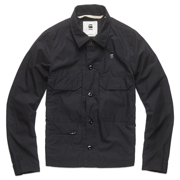 G-Star Xpo Work Overshirt - Dark Black
