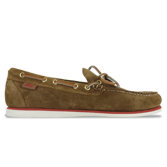 Bass Camp Moc Lite Decker Suede Shoe - Tan - Arena Menswear