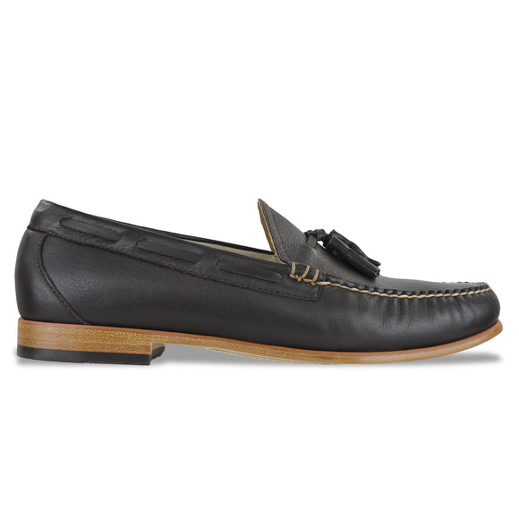 Bass Weejuns Palm Springs Larkin Loafer - Dark Brown Leather - Arena Menswear
