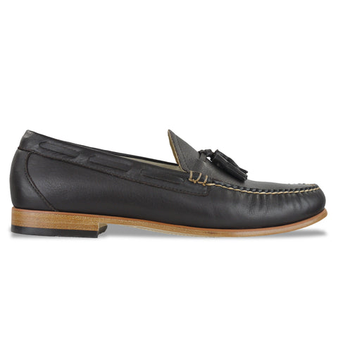 Bass Weejuns Palm Springs Larkin Loafer - Dark Brown Leather