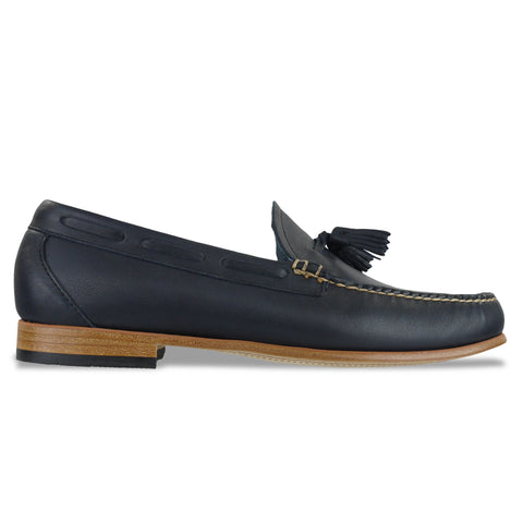 Bass Weejuns Palm Springs Larkin Loafer - Navy Leather