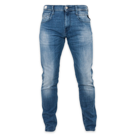 Replay Hyperflex Anbass Slim Fit Jeans - Mid 808-010 - Arena Menswear
