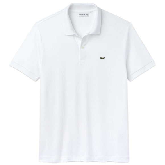Lacoste Stretch Jersey DH2050 Polo - White