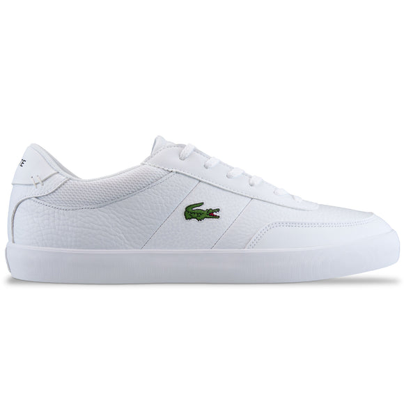 Lacoste Court-Master 120 Leather Trainer - White