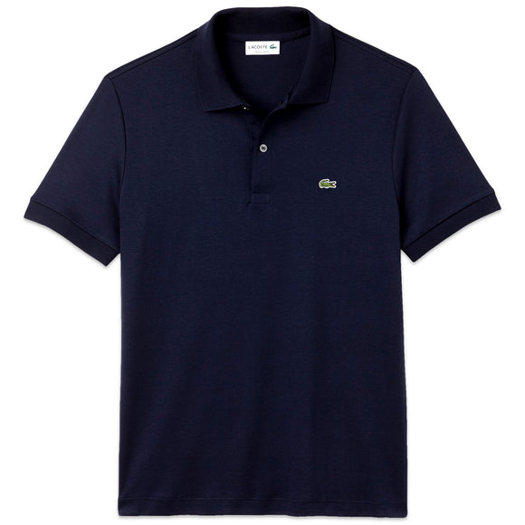 Lacoste Stretch Jersey DH2050 Polo - Navy