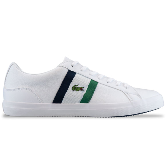 Lacoste Lerond 119 Leather Trainer - White