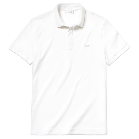 Lacoste Paris Regular Fit Stretch Polo PH5522 - White