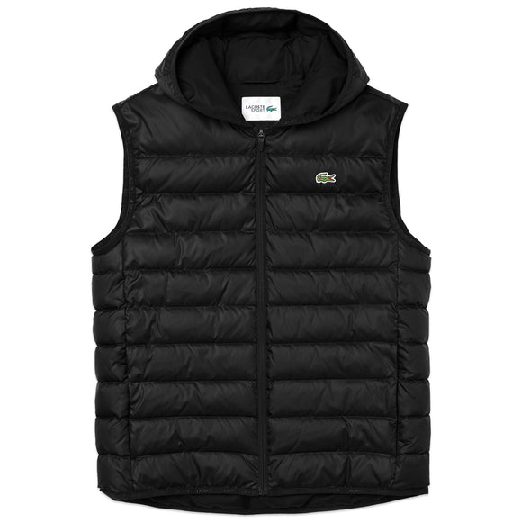 Lacoste BH1552 Padded Gilet - Black