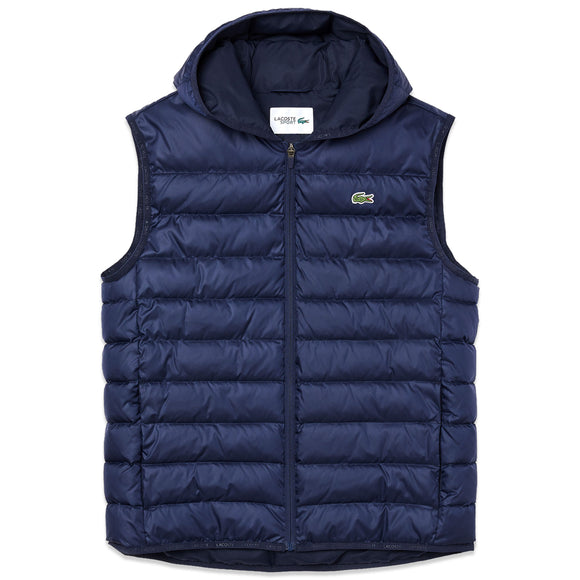 Lacoste BH1552 Padded Gilet - Navy