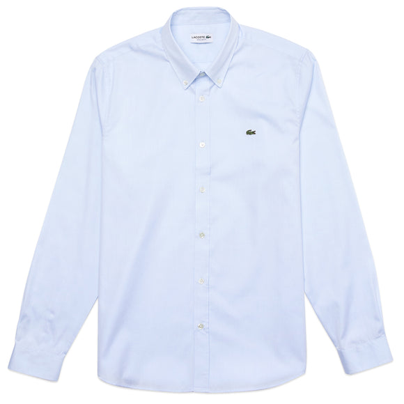 Lacoste Cotton Long Sleeve Shirt CH2933 - Sky
