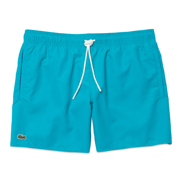 Lacoste Quick Dry Swim Shorts MH6270 - Reef Blue