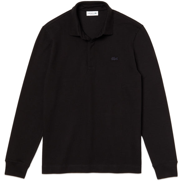 Lacoste Long Sleeve Paris Stretch Polo PH2481 - Black