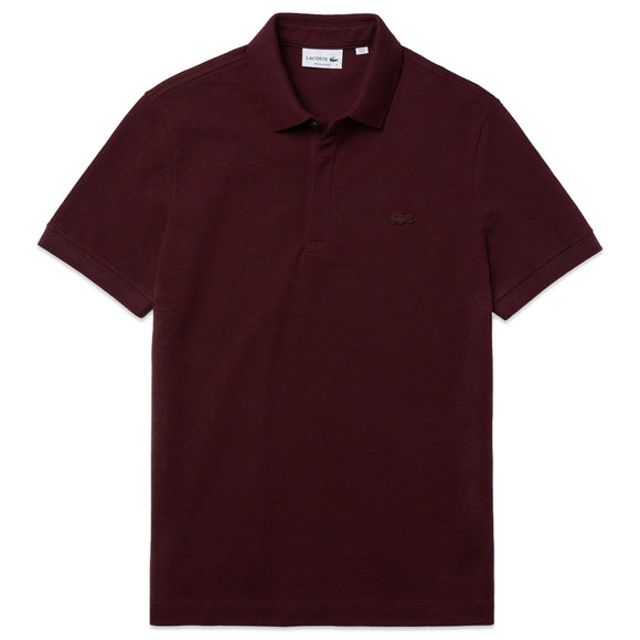Lacoste Paris Regular Fit Stretch Polo PH5522 - Burgundy