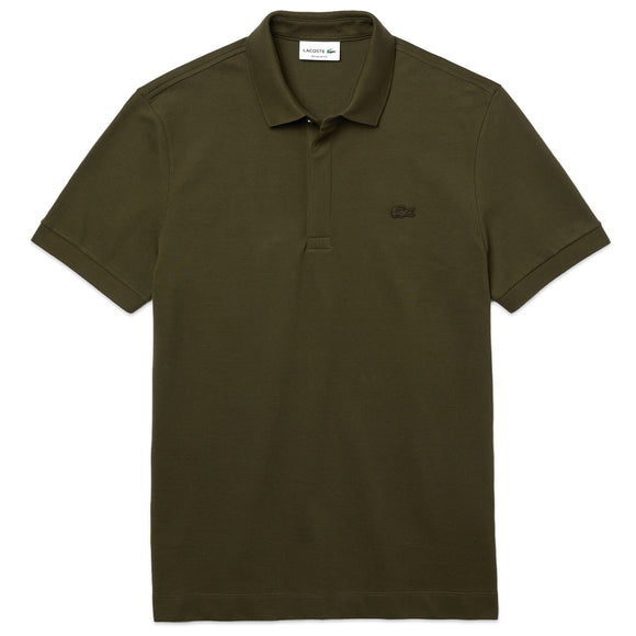 Lacoste Paris Regular Fit Stretch Polo PH5522 - Khaki