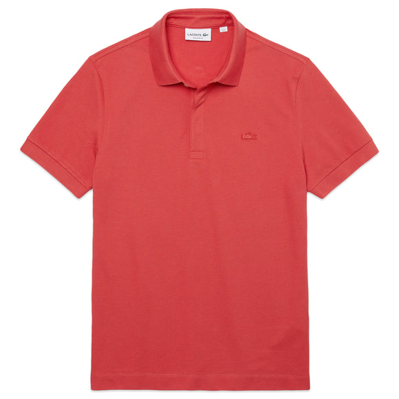 Lacoste Paris Regular Fit Stretch Polo PH5522 - Crater Red