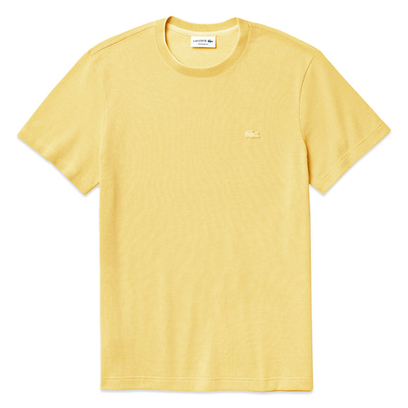Lacoste Birdseye Pique Tee TH4998 - Yellow