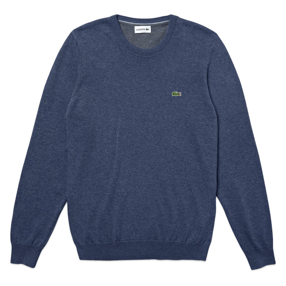Lacoste Cotton Crew Knit AH3467 - Alby Blue