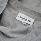 Lacoste Mini Pique Cotton T-Shirt TH8805 - Silver Grey