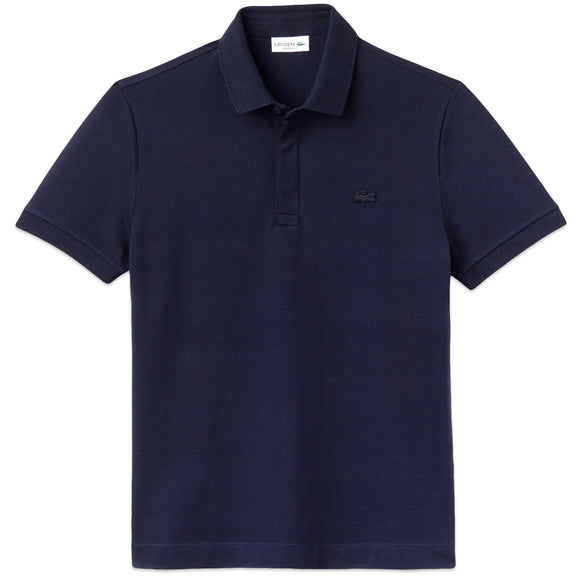 Lacoste Paris Regular Fit Stretch Polo PH5522 - Navy Blue