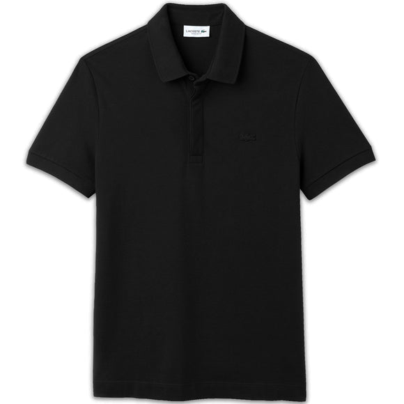 Lacoste Paris Regular Fit Stretch Polo PH5522 - Black
