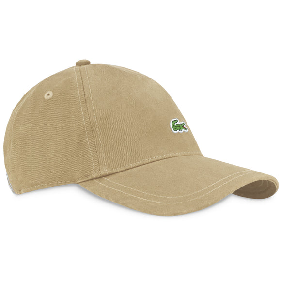 Lacoste RK4714 Embroidered Cap - Beige