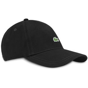 Lacoste RK4714 Embroidered Cap - Black
