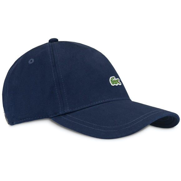 Lacoste RK4714 Embroidered Cap - Blue Marine